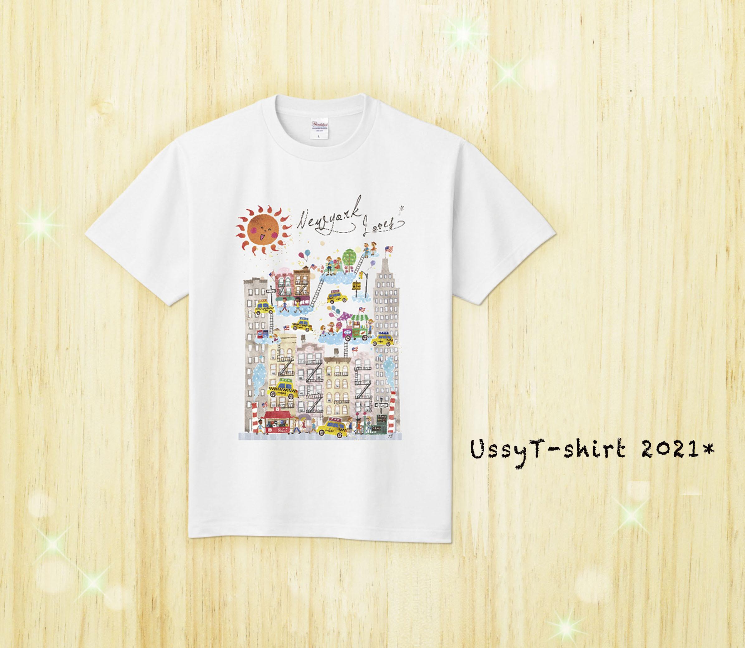 Tシャツ/ニューヨーク(白)