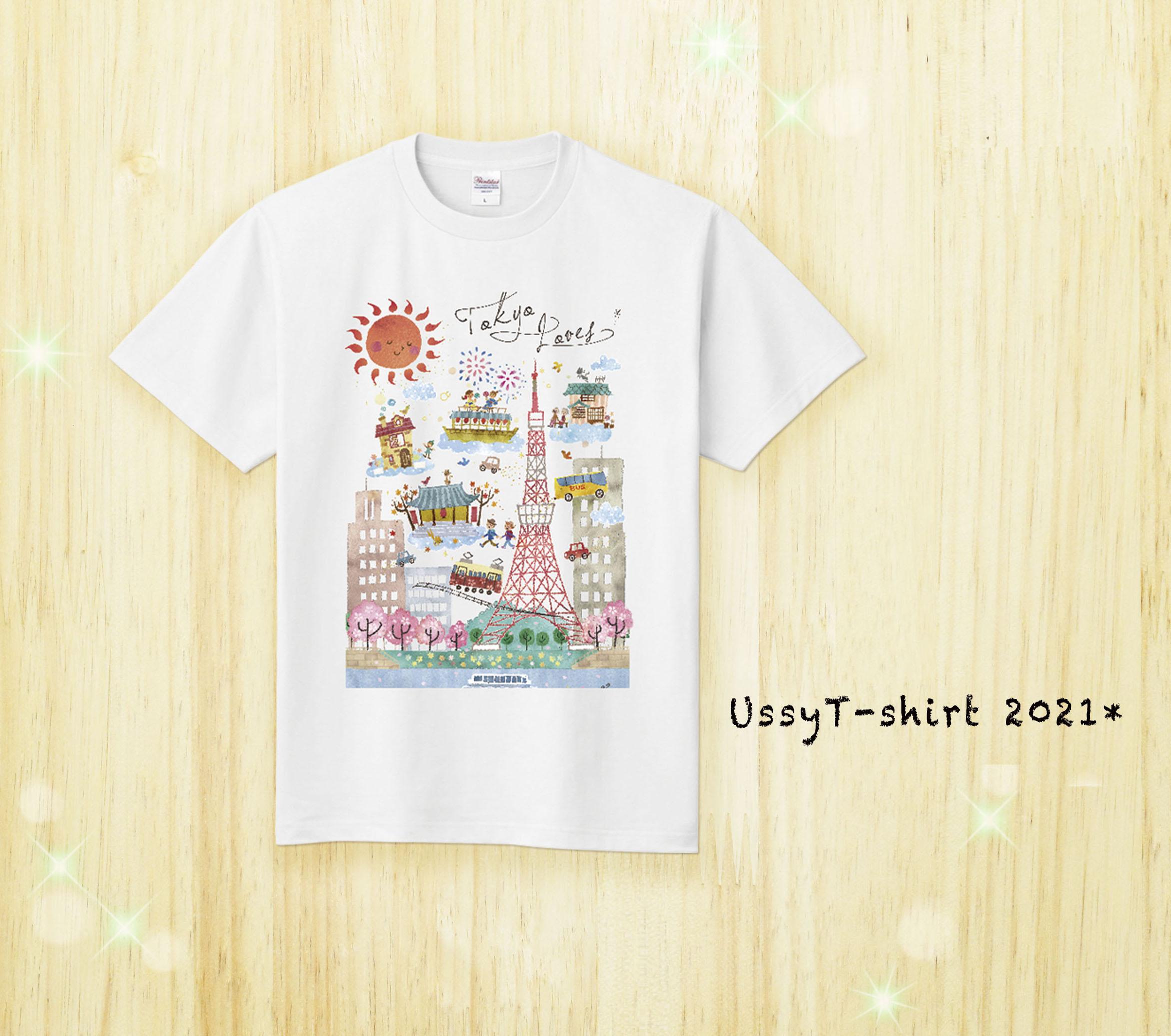 Tシャツ/東京(白)