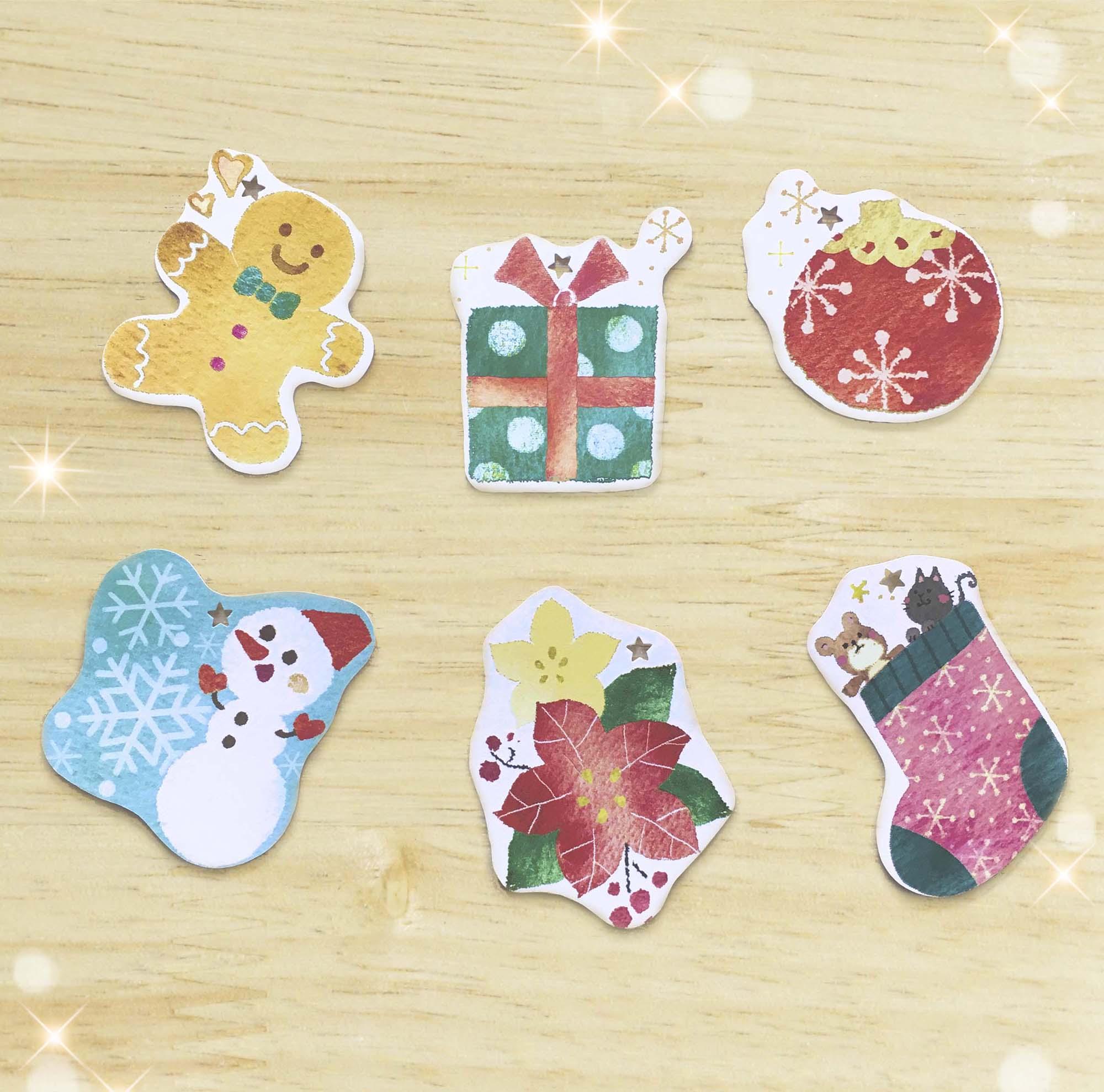 メッセージカード(クリスマス)
